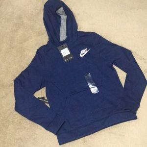 NWT Boys NIKE hooded sweatshirt